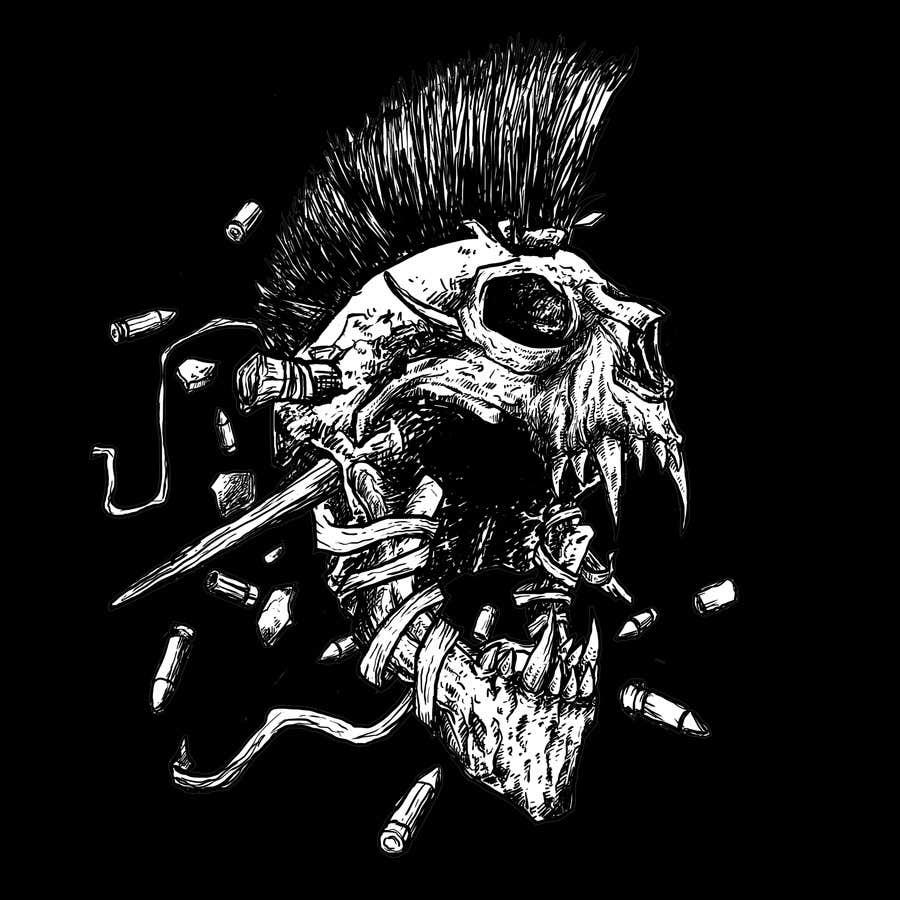 Ass bad skull