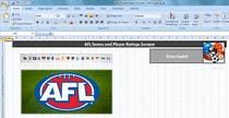 Data Processing Konkurrenceindlæg #1 for AFL - Statistics in a spreadsheet