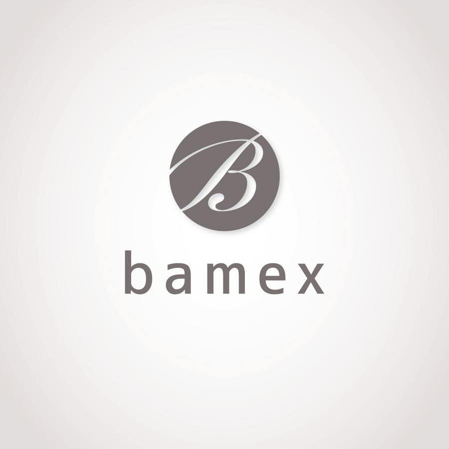 Proposition n°643 du concours Logo Design for Bamex