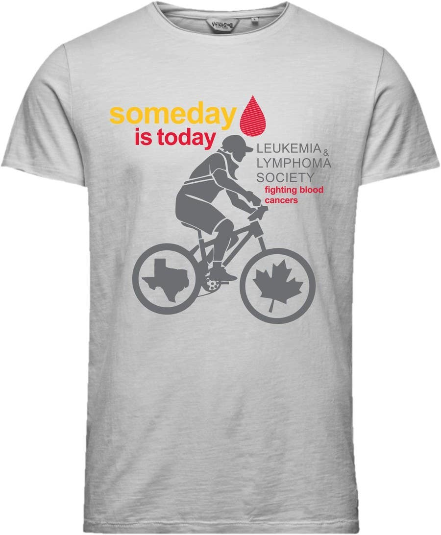 Design A T Shirt For Charity Bicycle Ride Freelancer