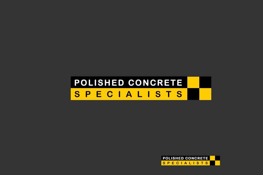 Penyertaan Peraduan #124 untuk Logo Design for Polished Concrete Specialists