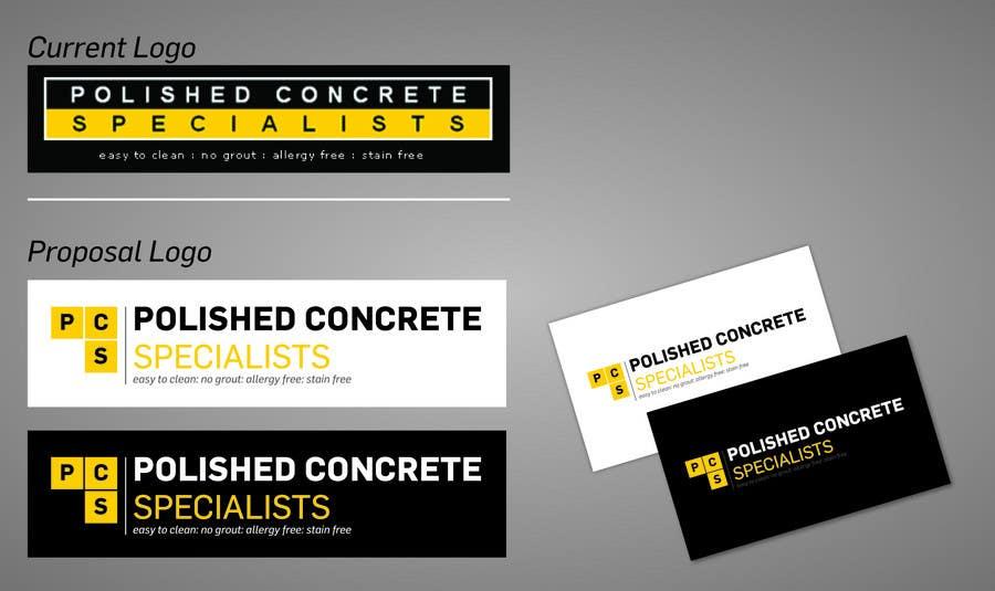 Konkurrenceindlæg #15 for Logo Design for Polished Concrete Specialists