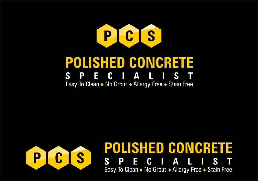 Konkurrenceindlæg #129 for Logo Design for Polished Concrete Specialists