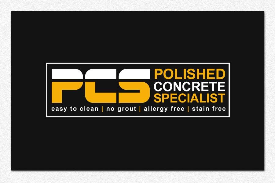 Конкурсная заявка №3 для Logo Design for Polished Concrete Specialists