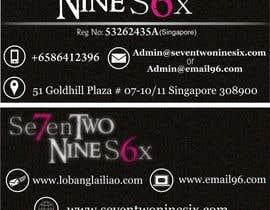 #10 untuk Design some Business Cards for SevenTwoNineSix oleh TanzeelE0068