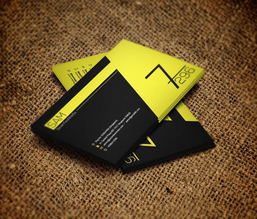 Penyertaan Peraduan #                                        23                                      untuk                                         Design some Business Cards for SevenTwoNineSix