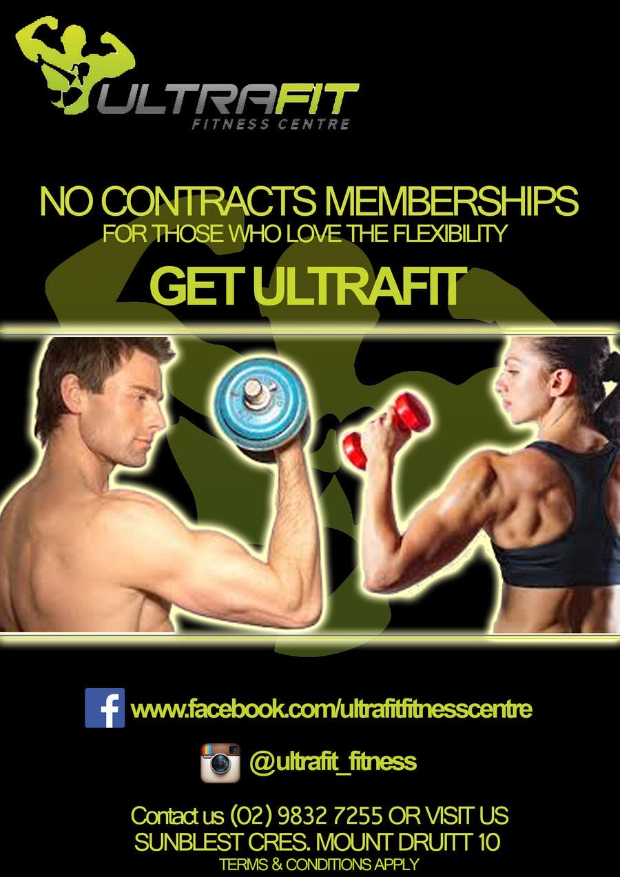 Konkurrenceindlæg #                                        9                                      for                                         ULTRAFIT No Contract Promo Offer
