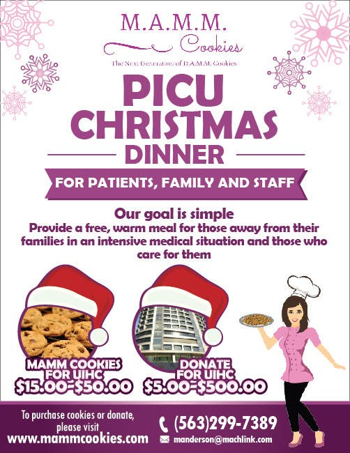 Christmas Fundraiser Flyer.Entry 27 By Felixdidiw For Mamm Cookie Fundraiser Flyer For