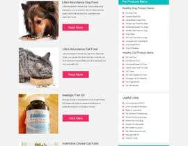 #13 untuk Design a Wordpress Mockup for Pet Food Website oleh webhelpguy