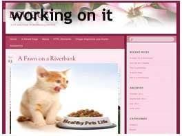 Penyertaan Peraduan #                                        11                                      untuk                                         Design a Wordpress Mockup for Pet Food Website