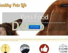 #12 untuk Design a Wordpress Mockup for Pet Food Website oleh amitedu