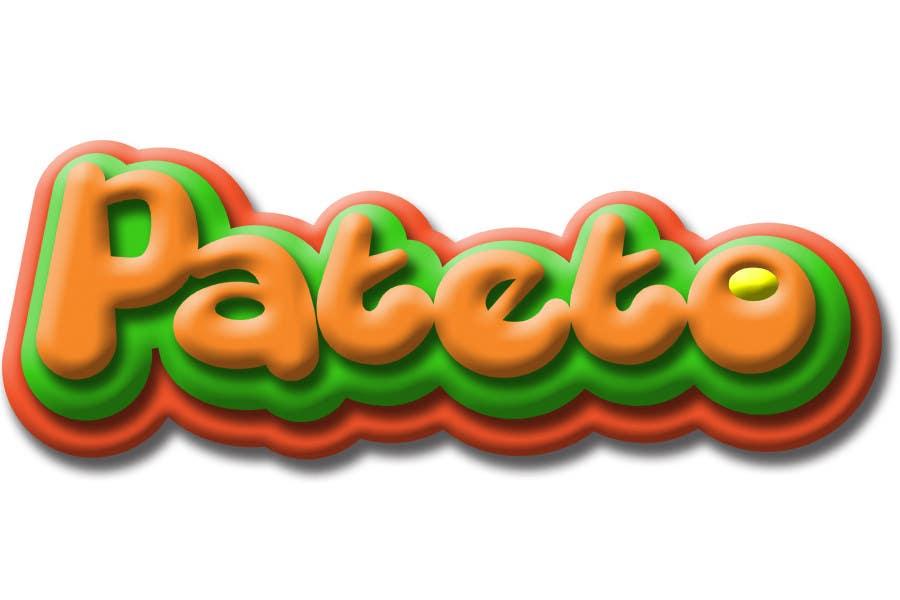 Penyertaan Peraduan #                                        36                                      untuk                                         Design a Logo for pateto