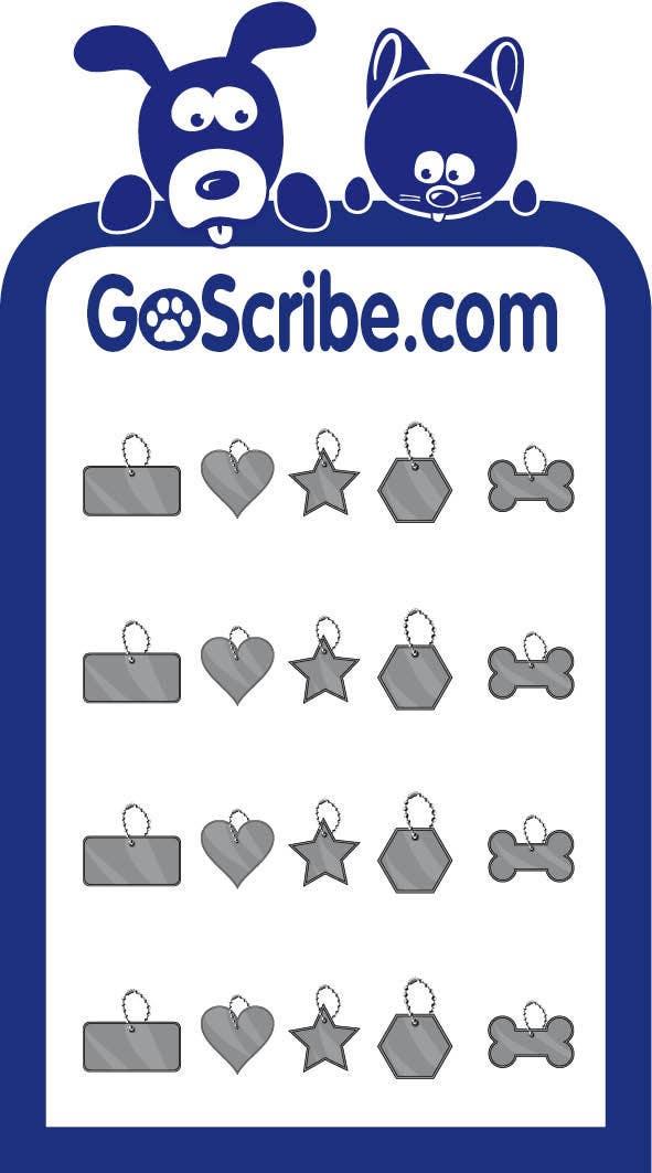 Bài tham dự cuộc thi #26 cho Brochure Design for GoScribe.com