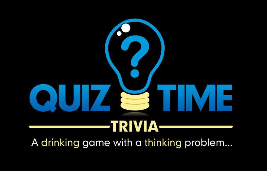 entry 31 by neillucas1970 for logo design for quiz time trivia freelancer