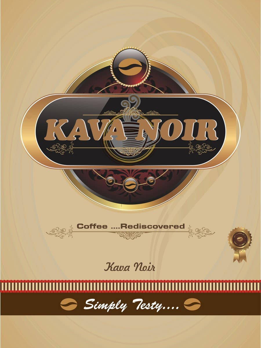 Конкурсная заявка №270 для Logo Design for KAVA NOIR