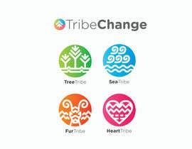 Nro 26 kilpailuun TribeChange Company Logo and Four Icons/ Logos käyttäjältä dighie31