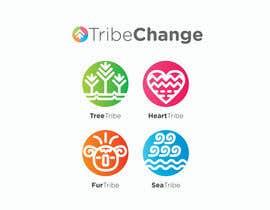 Nro 31 kilpailuun TribeChange Company Logo and Four Icons/ Logos käyttäjältä dighie31