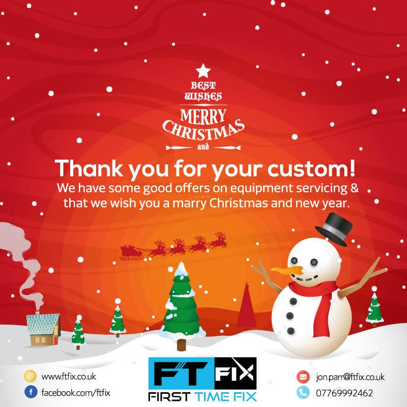 Entry #8 by mohamedmagdy20 for Email Christmas Card Marketing ...