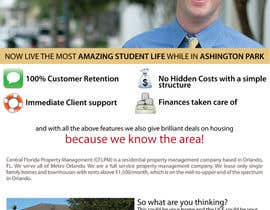 #7 cho Ashington Park Flyer Design for Central Florida Property Management bởi harshhede