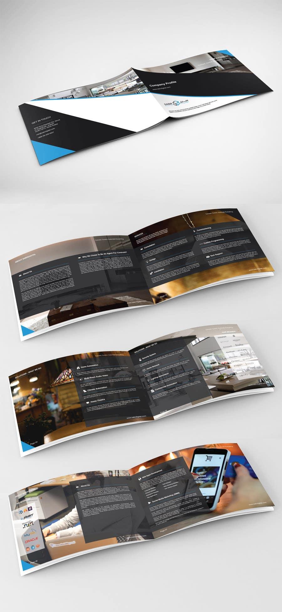 Proposition n°1 du concours design company profile