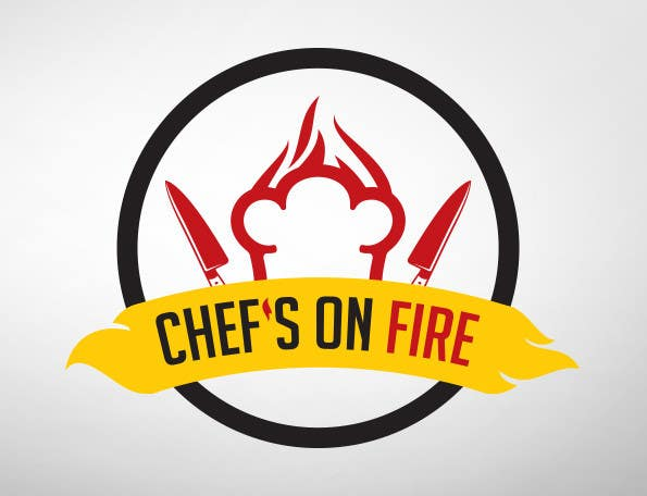 entry 68 by weirdolk for design a logo for chef s on fire a