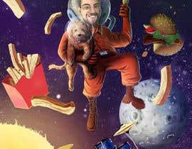 #17 for Cartoon of Characters in Space! by MarekDAZPostulka