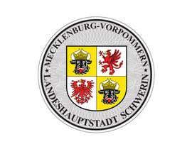 #5 pentru German License Plate Registration and State Seal Artwork de către ganjarelex