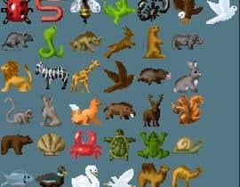 #11 , create a spreatsheet of 32x32px animals 来自 ClankY