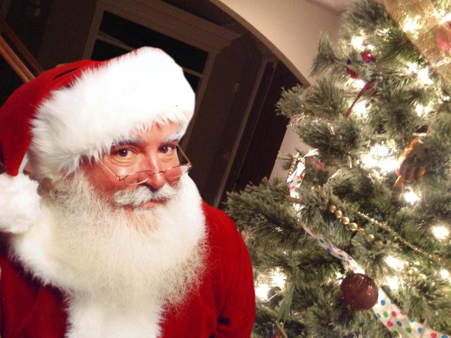 Of Course Santa 39 S Real He Was In Our Living Room Freelancer