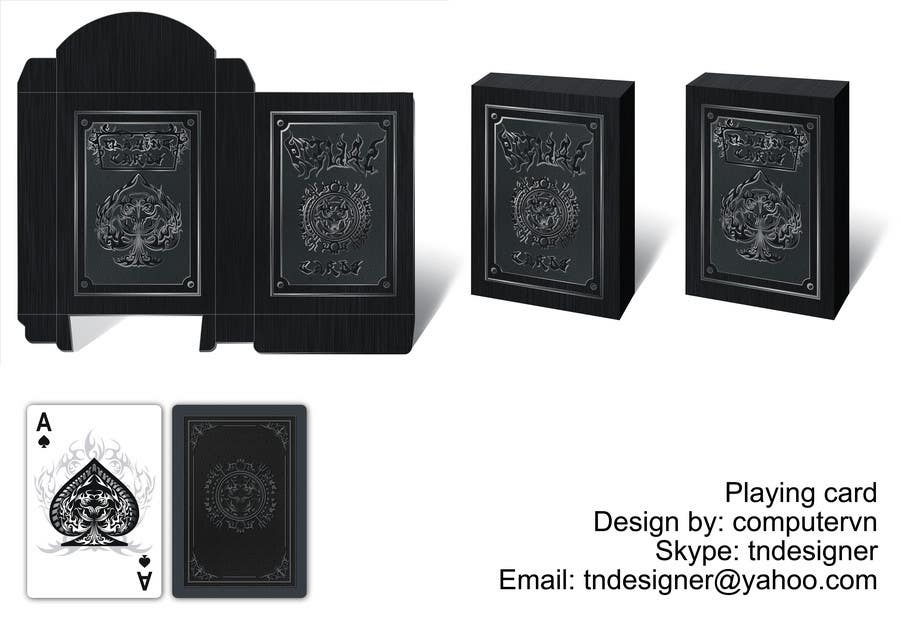 Contest Entry #11 for Graphic Design for Luxurious Playing Cards
