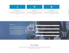 #9 untuk Redesign a website completely with a Corporate look! oleh anupammondal