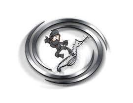 Nro 2 kilpailuun Design a Logo of Ninja with Seahorse käyttäjältä Rabby00