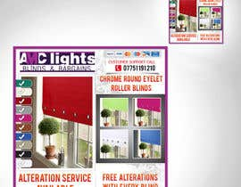 #6 untuk Graphic Design for AMC Lights Blinds And Bargains oleh digilogsystemseu