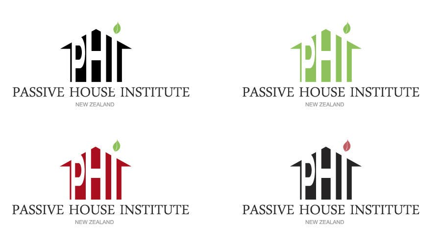 Contest Entry #                                        488                                      for                                         Logo Design for Passive House Institute New Zealand