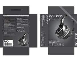 #14 para Design Headphones Product Retail Box por Mazeduljoni