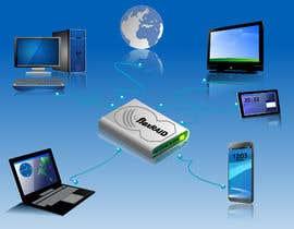 swastik2008 tarafından Illustrating a product as a center of a digital life için no 12