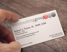 #16 für Design Business Card for TriConsultingGroup von designDr15