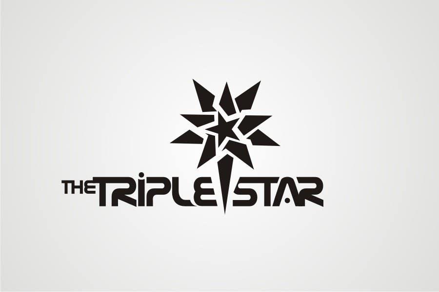 Inscrição nº 214 do Concurso para Logo Design for The Triple Star