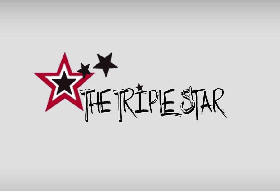 Inscrição nº 60 do Concurso para Logo Design for The Triple Star