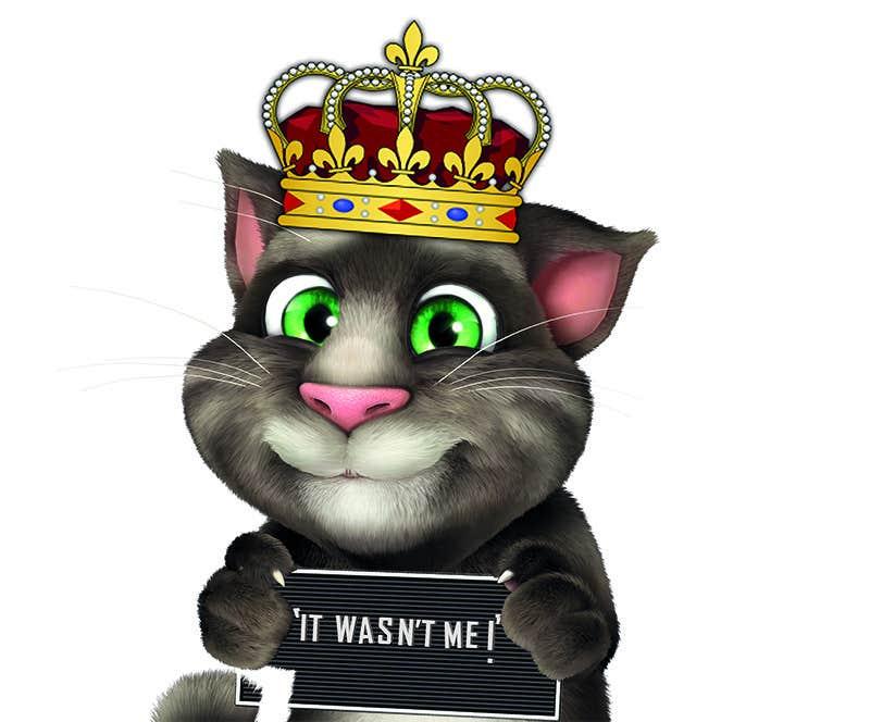 Bài tham dự cuộc thi #                                        3                                      cho                                         make and put crown on cat's head.