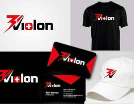 #603 for Logo Design for 3Violon af vndesign2011