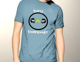 #26 para T-Shirt Design Contest: Dirty Downloader por fadishahz