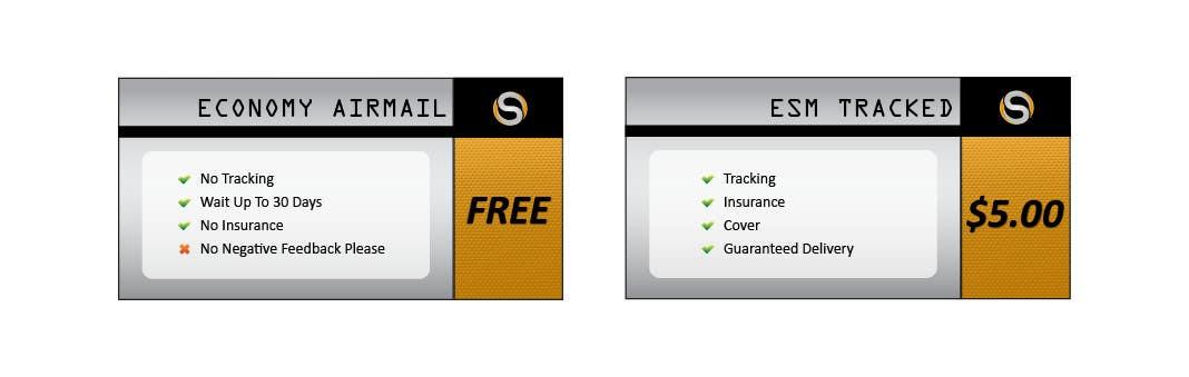 Penyertaan Peraduan #                                        7                                      untuk                                         Design 2 Icons for Shipping profile on ebay