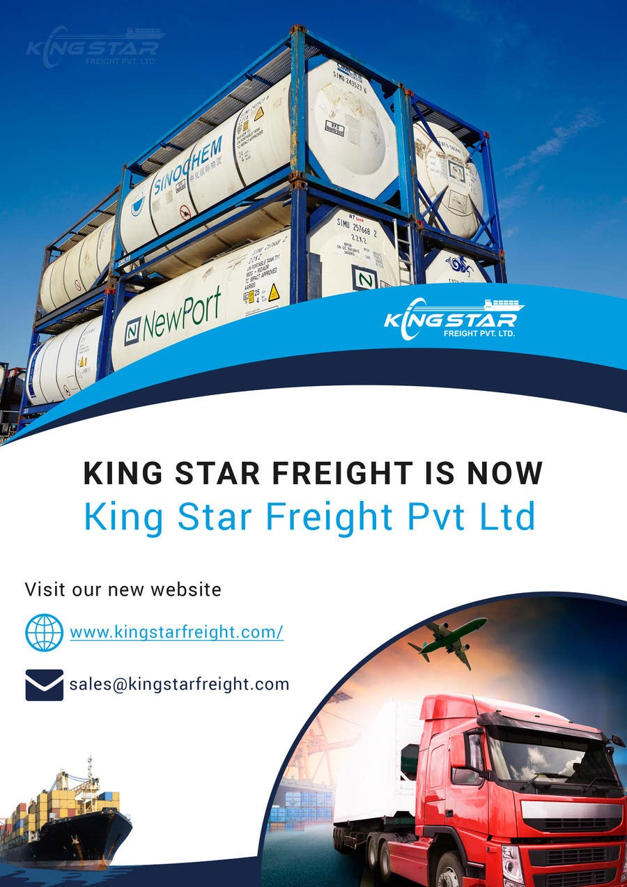 Entry #6 by AyazAhemadKadri for King Star Freight Pvt Ltd