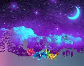 Nro 23 kilpailuun Please create a fairy tale background for my website käyttäjältä ArtGospod
