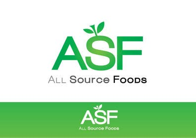 #193 for Logo Design for All Source Foods af paxslg