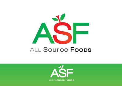 #194 for Logo Design for All Source Foods af paxslg