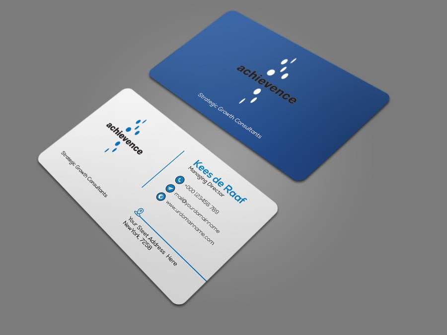Entry 316 by alifffrasel for design print ready business card business card colourmoves