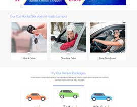 #10 for Car Rental Web Site. Design the main page, win contest and continue working with us on this site in a project environment at $50-100 per page. by tomydeveloper