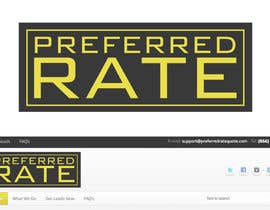 #169 untuk Logo Design for Preferred Rate oleh GlenTimms